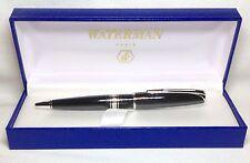 Waterman Charleston Black C/T Ball Pen New In Box Product