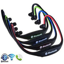 Sport Wireless Bluetooth In Ear Stereo Headset Headphone For iPhone Samsung SP