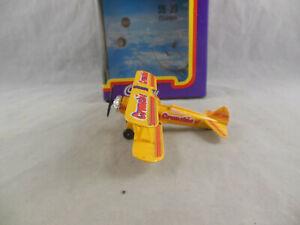Matchbox Skybusters SB-39 Stearman Biplane Cadbury Crunchie