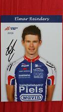 Elmar Reinders autographe signé autogramm radsport cyclisme dedicace
