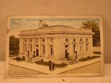 Henderson NC North, Post Office, early postcard