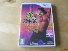 Zumba Fitness (Nintendo Wii, 2010) - jeu seul-NEUF-SEALED (Gratuit UK p&p)