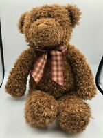 Toys For Target Gund Brown Teddy Bear Plush Kids Soft Stuffed Toy Animal Doll