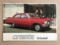 1968 Vauxhall Cresta original Australian sales brochure