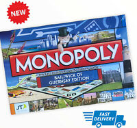 Guernsey Monopoly Board Game new sealed family fun channel islands (17