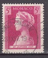 TIMBRE MONACO OBL N° 481  NAISSANCE DE LA PRINCESSE CAROLINE PRINCESSE GRACE