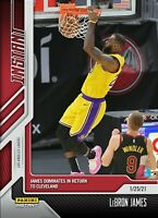LEBRON JAMES 2020 PANINI INSTANT CARD #55 LOS ANGELES LAKERS (PRE-SALE)