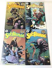 Dark Horse Mark Schultz SUBHUMAN comics #1 2 3 4 ~ FULL SET
