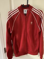 adidas track suit men Small Red,it Was Only Worn Once.