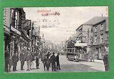 Sunderland High Street West Tram pc used 1907 Hartmann Ref H614