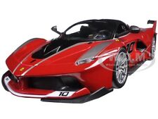FERRARI RACING FXX-K #10 RED 1/24 DIECAST MODEL CAR BY BBURAGO 26301