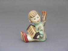 Goebel Hummel Engel mit Ziehharmonika (2) Kerzenhalter