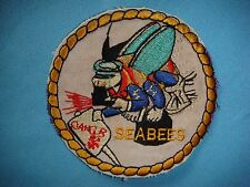 VIETNAM WAR PATCH US SEABEE RADIATION EQUIPMENT DETECTOR