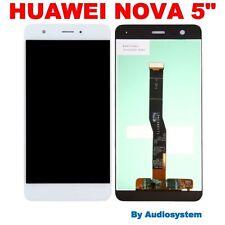 "P1 DISPLAY LCD+ TOUCH SCREEN PER HUAWEI NOVA 5"" VETRO CAN-L01 BIANCO RICAMBIO"