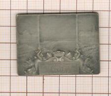 Plaquette argent ville du Havre 1905 concours gymnastique