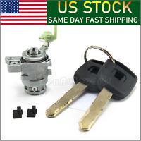 New Left Driver Side Door Lock Cylinder For Honda CRV CR-V Element W/ 2 Keys