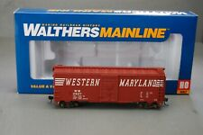 Walthers Mainline HO Scale 40' AAR 1948 Boxcar Western Maryland #29127
