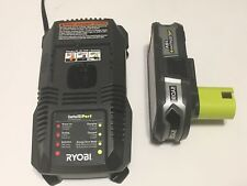 RYOBI ONE+ 18V  LITHIUM ION P107 BATTERY AND P118 CHARGER COMBO,NEW