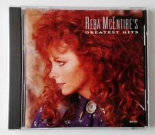 REBA MCENTIRES GREATEST HITS MCA RECORDS ORIGINAL CD - EXCELLENT USED 1992