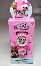 New LOL doll watch flashing lights LCD watch LOL surprise doll watch