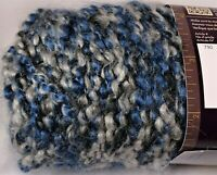 Lion Brand Yarn Homespun Blue Moon Bulky Knitting Crochet  Crafts Variegated