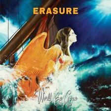 ERASURE – WORLD BE GONE ORANGE VINYL LP (NEW/SEALED)