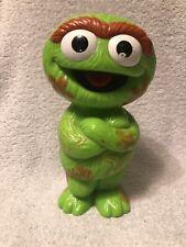 Vintage 1999 Tyco Pre School Oscar the Grouch Sesame Street Figure RARE