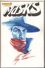 Alex Ross Original Color Art - The Shadow - Masks #1. One of a Kind Image.