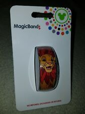 NEW Disney Parks The Lion King SIMBA Magic Band 2 Link It Later Red
