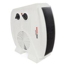 Lloytron F2035 White Staywarm 3000w Upright / Flatbed Fan Heater (BEAB) - New