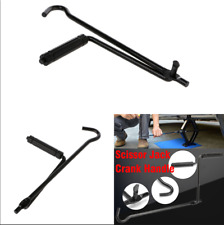 Car SUV Wheel Jack Lug Handle Crank Scissor Speed Wrench Tyre Wrench Repair Tool