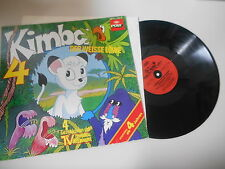 LP bambini Kimba il leone BIANCHE-sequenza 4 (4) storie Poly