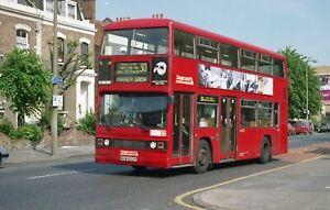 Original colour negative, London Transport, Leyland Titan, NUW602Y, Sc E London