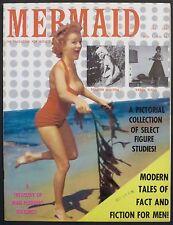 MERMAID MEN'S GIRLIE MAGAZINE 1959 BEATNIKS, JESSE JAMES, NAKED GIRLS