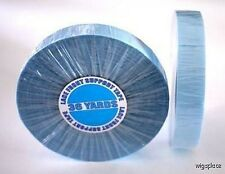 """Walker Lace Front Support Hairpiece Tape 3/4"""" roll 36 Yard Wig Blue Liner"""