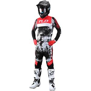 Troy Lee Designs Gear Combo TLD MX Motocross SE ULTRA Pants Jersey ROCKET RED