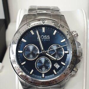 Hugo Boss Mens sports luxury 1513755 Watch new with warranty