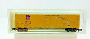 AZTEC UPFE 2012-13 N SCALE UNION PACIFIC FRUIT EXPRESS REEFER 455987 LN COND