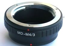 Minolta MD MC  Lens to Micro 4/3 M43 Mount Adapter G3 GF5 EPL5 GX1 OM-D MD-M43
