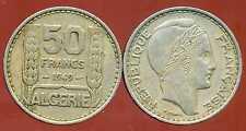 ALGERIE  ALGERIA 50 francs  1949  ( bis )