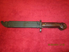 Romanian Type 2 Bayonet Model 1959 W/Scabbard