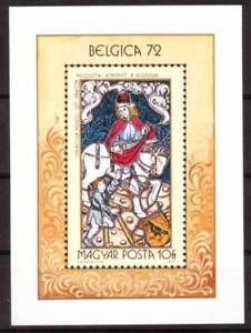 HUNGARY - 1972. Belgica 72 Stamp Exhibition S/S-MNH
