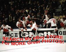 TEAM Canada 1972 SUMMIT Series CELEBRATION All-TIME Greats CUSTOM Lab 8X10 NEW!!