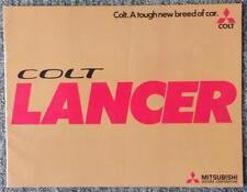 MITSUBISHI COLT LANCER SALES BROCHURE 1975 REF- JUN75