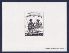 épreuve de luxe timbre France  tableau  caroussel    1978  num: 1983