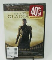 GLADIATOR DVD MOVIE, RUSSELL CROWE, JOAQUIN PHOENIX, CONNIE NIELSEN, WS, NEW