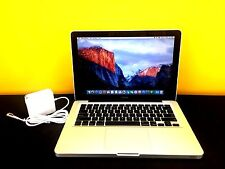 "13"" Apple MacBook 1TB SSD Hybrid 8GB RAM Re-Certified OSx-2015 - 1 YEAR WARRANTY"