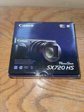 Canon - PowerShot SX720 HS 20.3-Megapixel Digital Camera - Red
