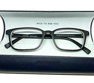 """Warby Parker """"CRANE"""" Black Square Shape Designer Eyeglass Frame~w/Case!"""