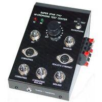 CB radio workmn T747 microphone TESTER  handiest tool in th shop- echo, earphone